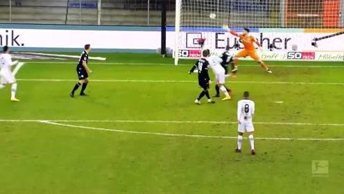 德甲第18轮5佳球:哈兰德桑乔精妙连线 神人极速后脚跟破门