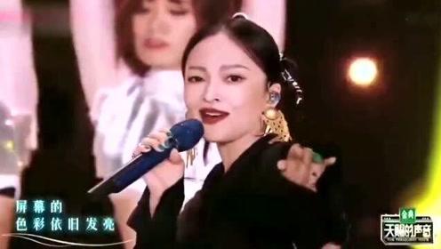 天赐的声音:张韶涵檀健次合唱《拉丁舞之恋》,还是那个味道!