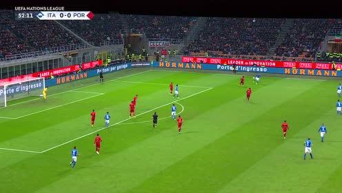 【配音集锦】意大利0-0葡萄牙 因西涅屡失良机