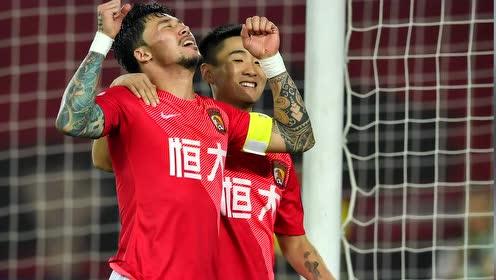 【战报】恒大5-0人和晋级足协杯8强 韦世豪上演帽子戏法