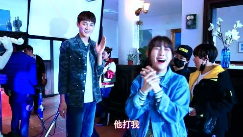 Behind the scenes: Xing Fei taught Jin Ze magic | Forget You Remember Love
