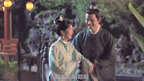 BTS: Zhong Hanliang and Tan Songyun strolling in the garden | The Sword and The Brocade