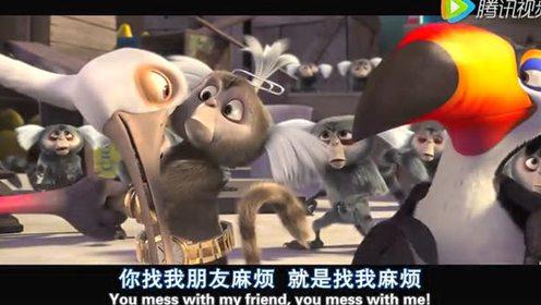 银幕中的蠢萌搞笑贱动物