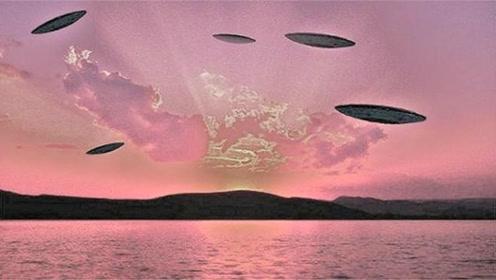 密歇根湖面出现闪光UFO舰队,世界各国科学家已开始研究!的图片