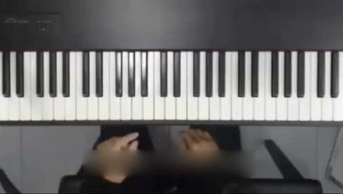学钢琴的手指分布图7天迅速熟悉钢琴五线谱