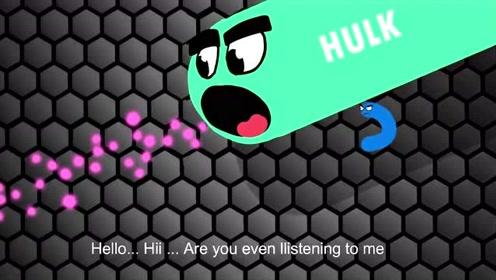 蛇蛇大作战:菜鸟的初体验,搞笑动画
