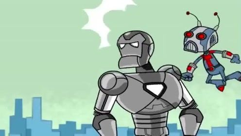 幽默动画,最丑蜘蛛侠单挑所有超级英雄 !