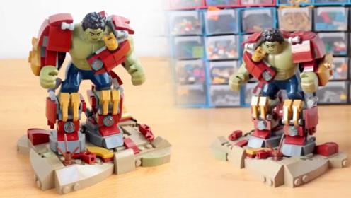 乐高创意moc:反浩克装甲中的绿巨人!