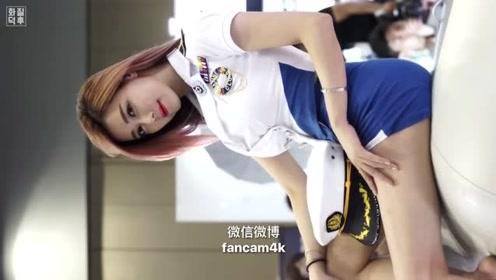 韩国人气主播,靓丽车模 金荷律 海军制服 绝美气质!
