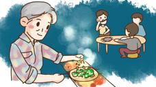 手绘《宵夜江湖》之胜过烤肉的素食美味烤饼