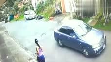 廣東女孩在路邊晨跑,要不是拍下,都不知道她經歷了什么!