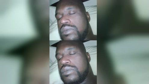 囧囧NBA:来看看奥尼尔睡着了有多难叫醒