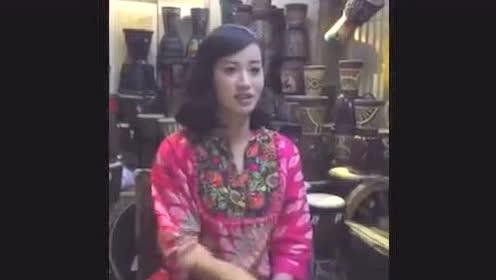 丽江手鼓才女《小宝贝》