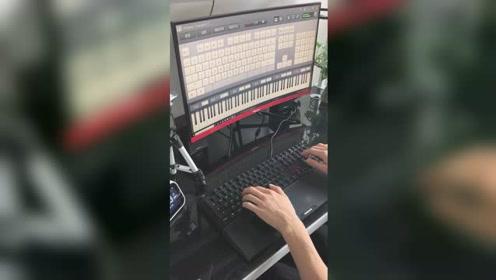 键盘也可以弹出好听的音乐