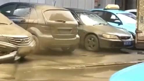 洗车场出了新花样,5秒后你们憋着别笑!