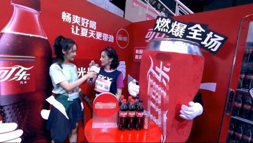 《超新星运动会》陈小纭获得女子射箭冠军后接受采访