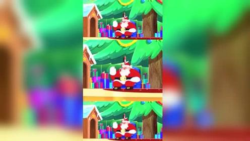搞笑:玛丽娜见到了真的圣诞老人