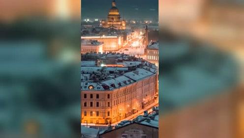 冬日莫斯科,只有亲身体验,才能感受它真正的美