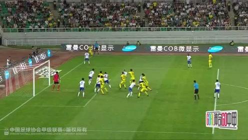 中甲集锦:桑戈尔梅开二度,呼和浩特2比0永昌豪取六连胜
