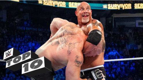 不愧是摔角界的战神神力盖世,战神之锤精彩集锦,500斤对手照摔不误!