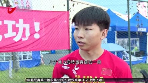 百米飞人大战谢震业孤独夺冠  许周政伤后首战成绩不佳