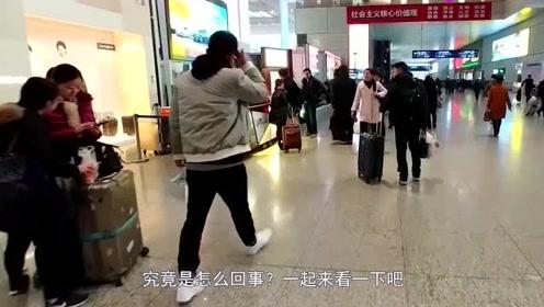 印度一家人来中国旅游,看到这一幕急了怎么和电视里的不一样?这是咋回事!