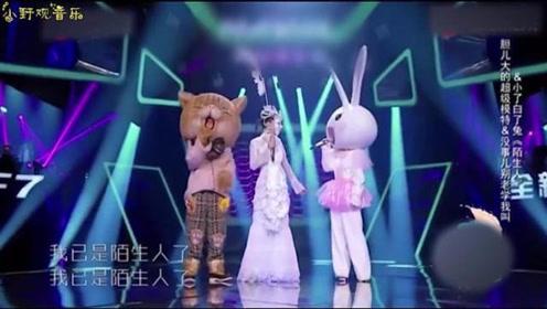 张韶涵等人倾情演唱《陌生人》,一首撩人的歌曲,再见亦是陌生人