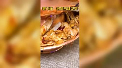 在小洋楼里居然能吃到这种三层锅还有网红同款甜品