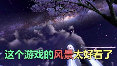 天涯明月刀手游:众所周知,天刀是一款风景游戏