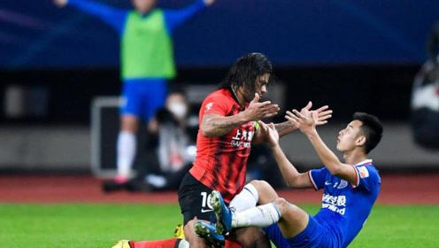 中超第二阶段首轮上海申花0-0上海上港 申花守住了强烈猛攻曾诚本场最佳