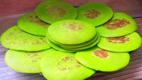 菠菜蜂蜜小饼,不用发面,不用擀面,做法营养又健康
