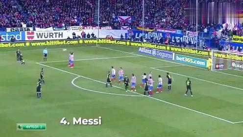足球任意球射门集锦:遇上这样不讲理的弧线球,门将也没办法