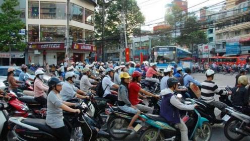 越南摩托车成灾,但是为什么没有中国制造的?一越南人说出了实话