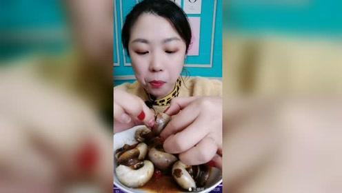 美食吃播:猫眼螺