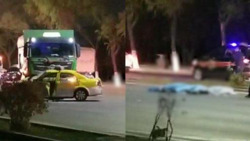 3人死亡!甘肃一重型货车与出租车惨烈相撞,现场画面触目惊心