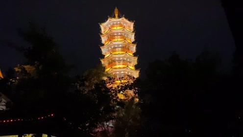 桂林山水甲天下,桂林夜景#旅行vlog#