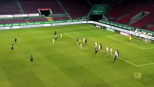 德甲第12轮五佳球:巴尔科克门前1V3,施廷德尔导弹任意球。
