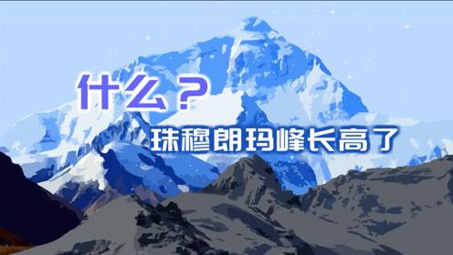 什么?珠穆朗玛峰长高了