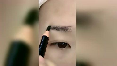 谁说眉毛画不好的举手,赶紧跟着这个视频学起来