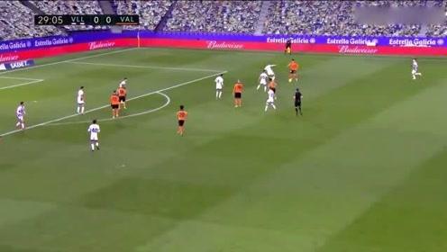 季西甲第18轮全场集锦,巴拉多利德0:1瓦伦西亚,整场比赛跌宕起伏!