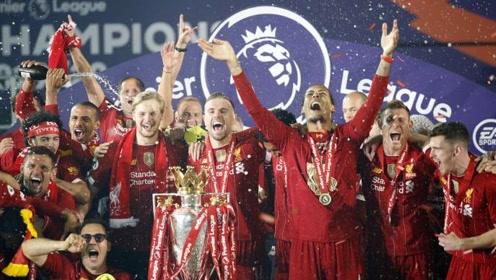 一个赛季的缠斗!利物浦成新科英超冠军 瓜帅携曼城列队欢迎