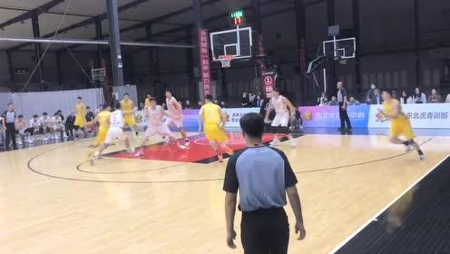 吉林vs广厦热身赛集锦 吉林87-114不敌广厦