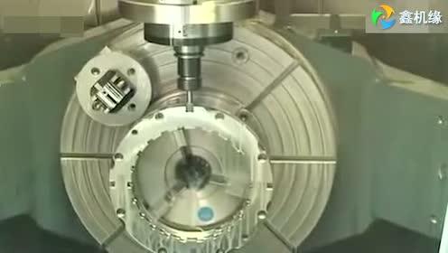 德国机床五轴加工中心震撼演示 (64播放)