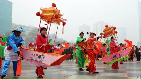 非物质文化遗产,黄梅民间娱乐节目采莲船