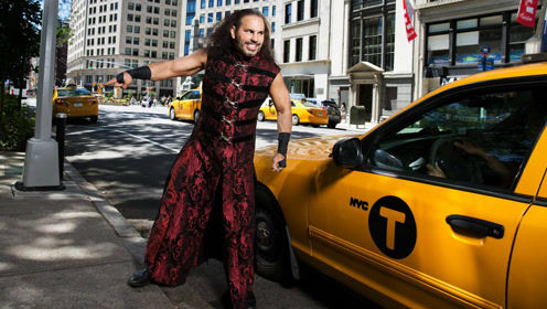 WWE明星美国纽约大片拍摄花絮 麦特哈迪删除黄色出租车