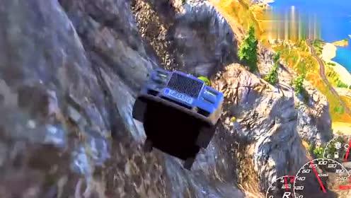 车辆碰撞测试:有钱人就去开劳斯莱斯幻影进行碰撞,我不懂