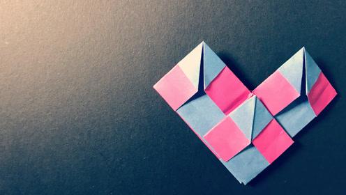 圣诞节将至,是否在酝酿着一场表白,九宫格爱心折纸了解一波图片