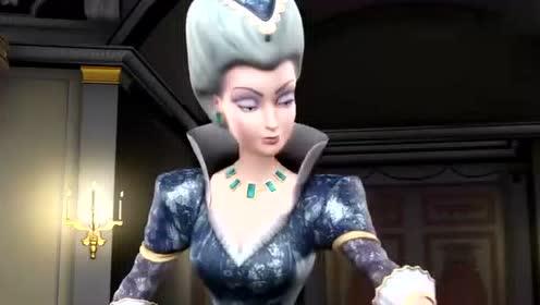 芭比之十二芭蕾舞公主 公爵夫人原形毕露,太可