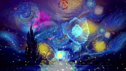 宇宙深处的永恒音乐与绘画艺术