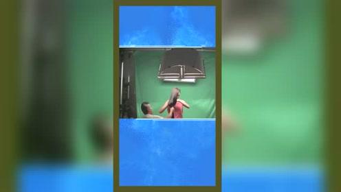 洗发水广告原来是这样拍的,难怪头发飘飘欲仙